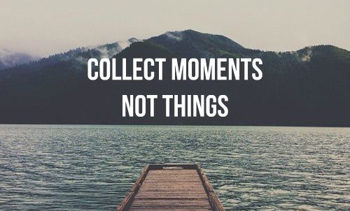 collectmomentnotthings
